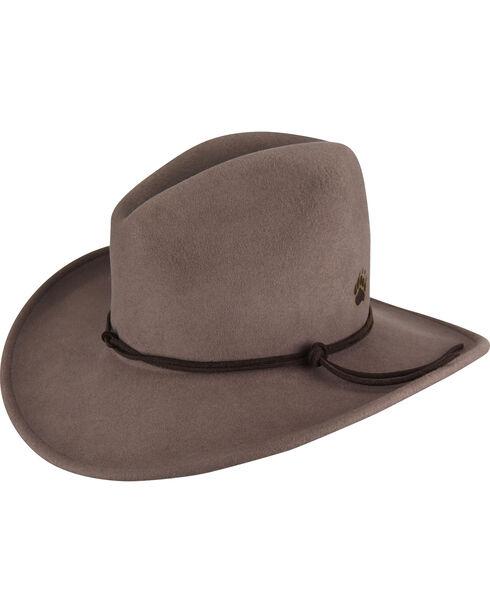 Bailey Men's Grey Bartel Wool Felt Hat , Grey, hi-res