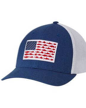 Columbia Men's Fish Flag Mesh Cap, Blue, hi-res