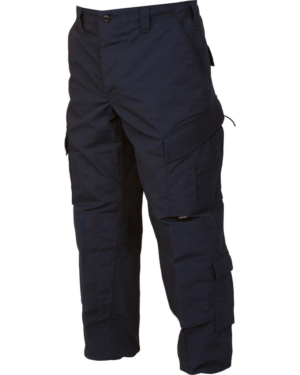 Tru-Spec Tactical Response Camo RipStop Uniform Pants, Navy, hi-res