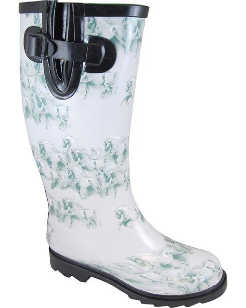 Smoky Mountain Women's Misty Waterproof Boots, Grey, hi-res