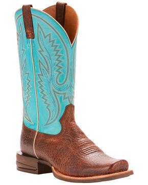 Ariat Men's Relentless Advantage Banker Cowboy Boots - Square Toe , Natural, hi-res