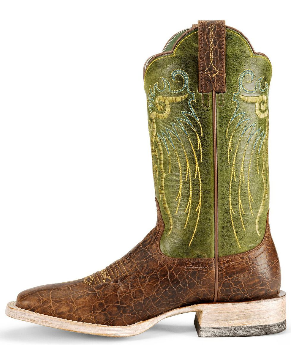 Ariat Mesteno Cowboy Boots - Square Toe, Clay, hi-res