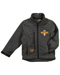 Cowboy Hardware Boys' Tough Poly Shell Jacket , Brown, hi-res