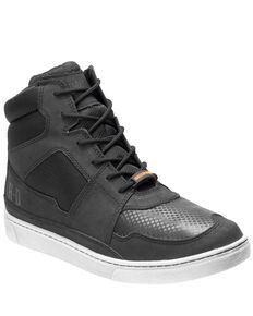 Harley Davidson Men's Eagleson Waterproof Moto Shoes, Black, hi-res