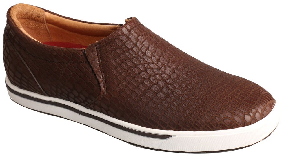 Twisted X Women's Brown Print Casual Slip-On Shoes , Brown, hi-res