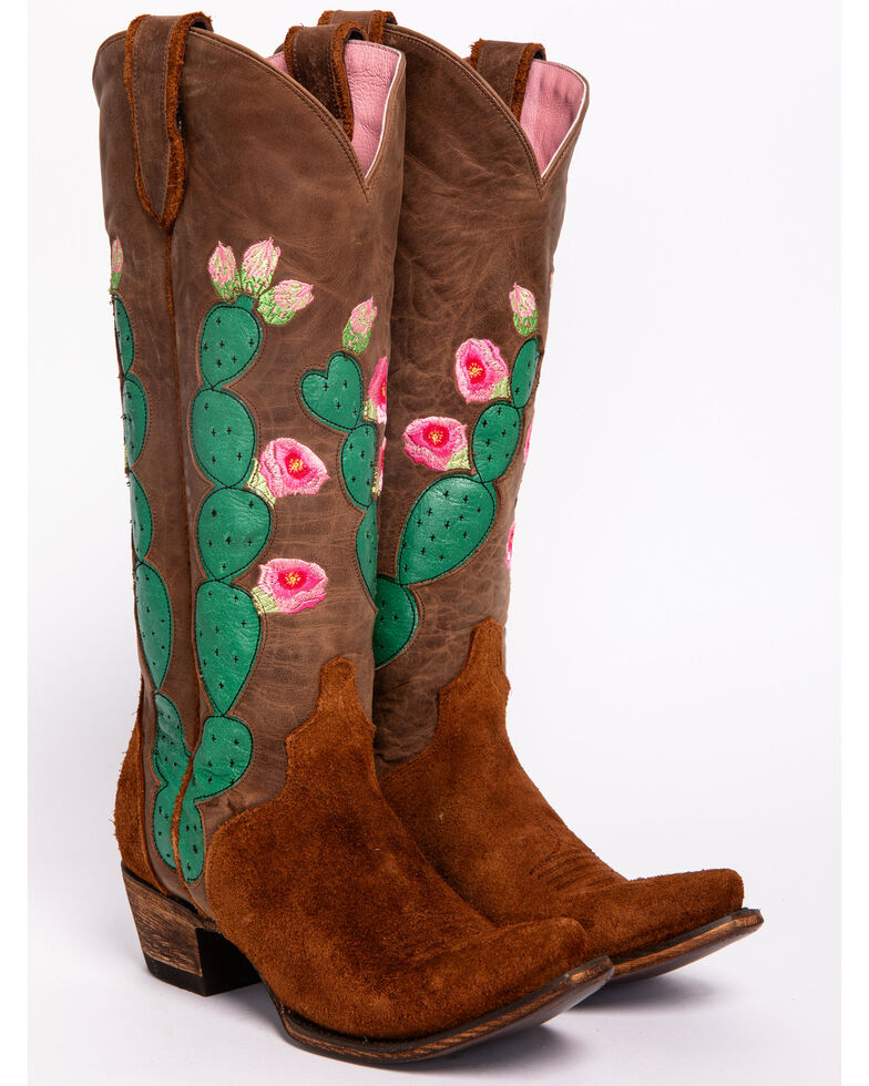 Junk Gypsy by Lane Women's Hard to Handle Western Boots - Snip Toe , Brown, hi-res