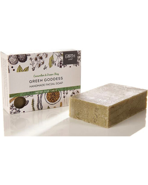 Earth Luxe Green Goddess Nearly Natural Soap, No Color, hi-res