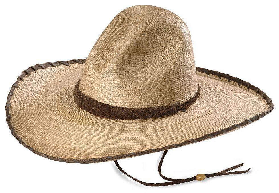 Larry Mahan 30X Cherokee Sloped Straw Cowboy Hat  5da7c4006eb