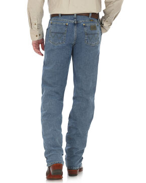 Wrangler George Strait Men's Cowboy Cut Straight Leg Jeans - Tall , Blue, hi-res