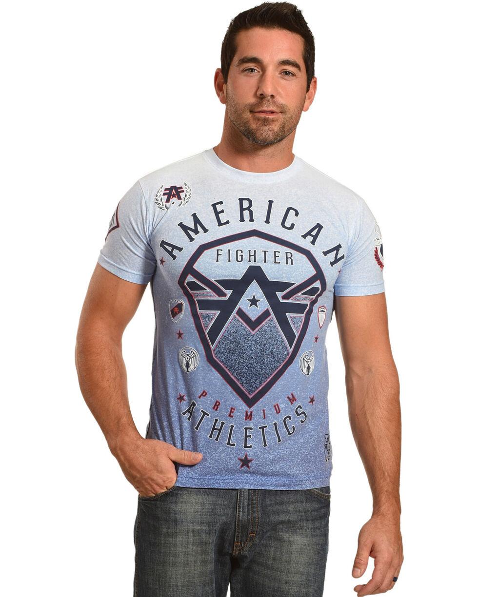 American Fighter Men's Dry Ridge Tee, White, hi-res
