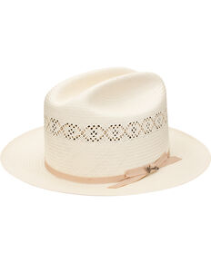 Stetson Men's Natural Open Road 1 Straw Hat , Natural, hi-res