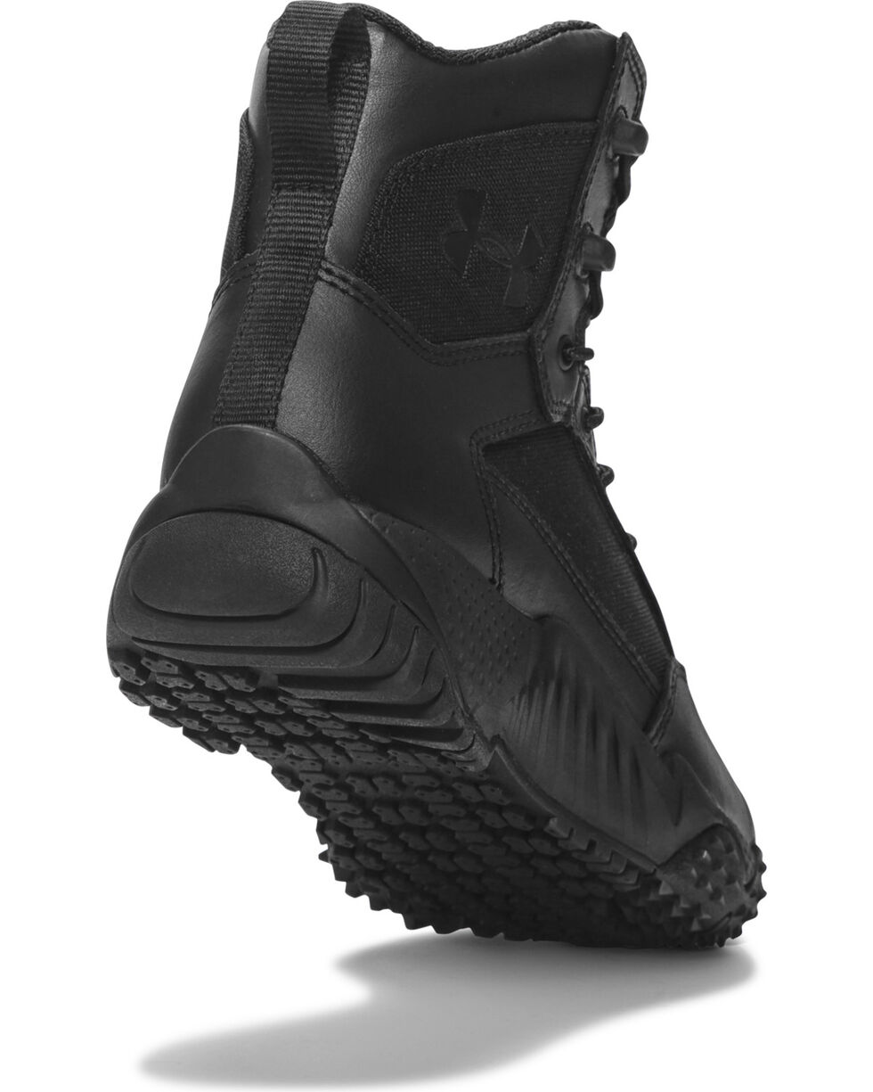 Under Armour Women's Black Stellar Tactical Boots - Round Toe , , hi-res