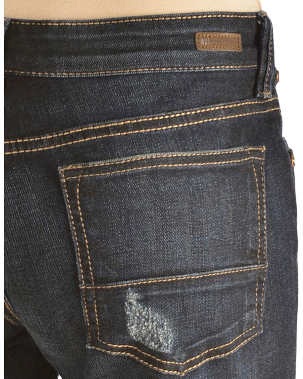 KUT from the Kloth Women's Catherine Boyfriend Shorts, Denim, hi-res