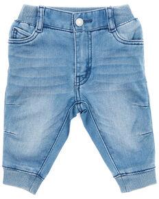 Levi's Infant Boys' Dark Wash Denim Rib Waist Jogger Pants , Grey, hi-res
