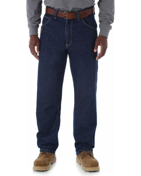 Wrangler Men's Riggs Workwear Contractor Jeans, Antique Indigo, hi-res