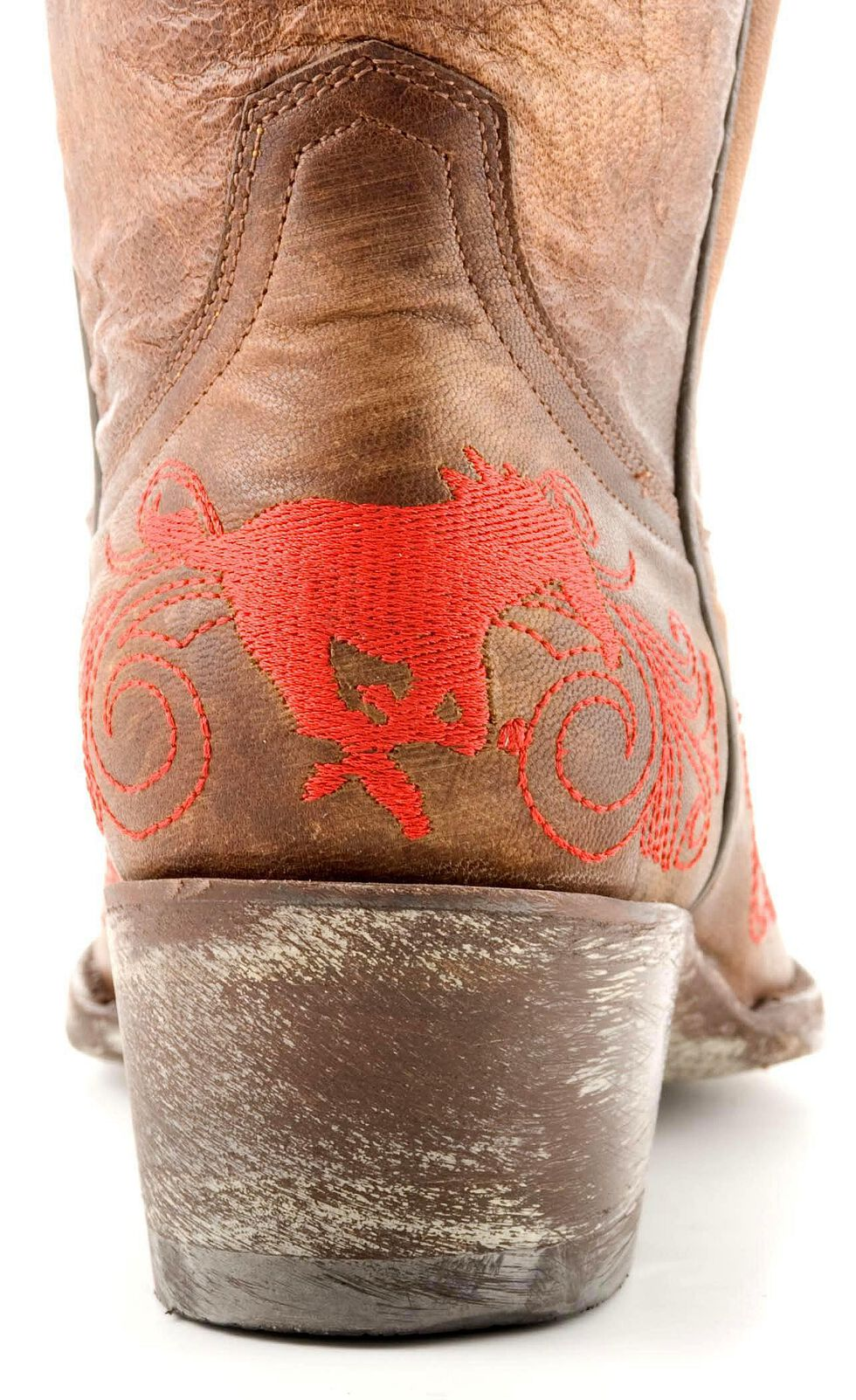 Gameday Southern Methodist University Cowgirl Boots - Pointed Toe, Brass, hi-res