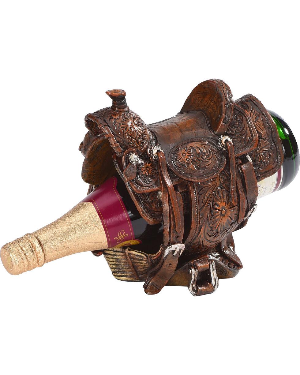 BB Ranch Saddle Wine Bottle Holder, No Color, hi-res