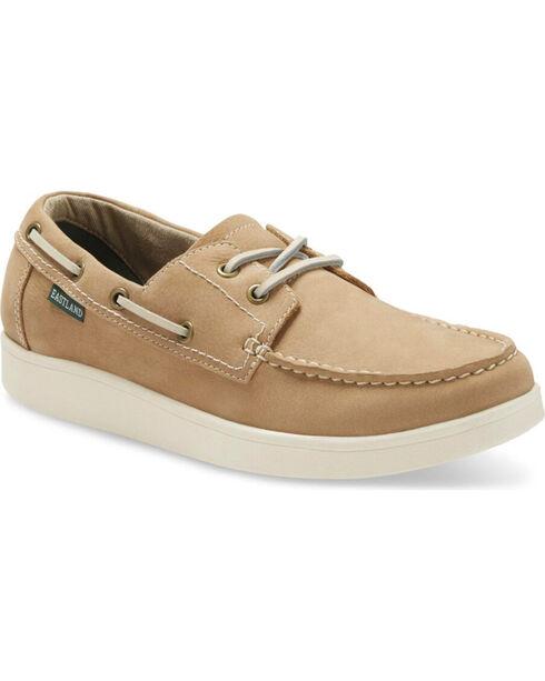 Eastland Men's Gooch Boat Shoes - Moc Toe, Natural, hi-res