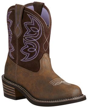 Ariat Women's Charlotte Boots - Medium Toe, Brown, hi-res