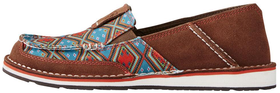 Ariat Women's Tan Aztec Cruiser Shoe - Moc Toe, Tan, hi-res