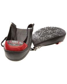 Impacto Men's Toes2Go Steel Toe Cap, Black, hi-res