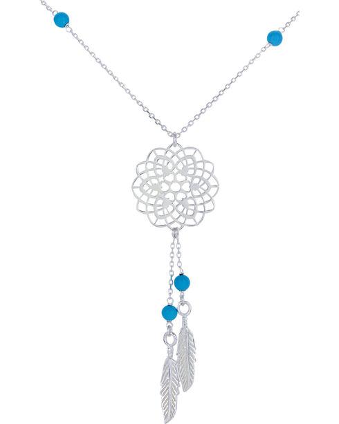 Montana Silversmiths Dreamweaver Necklace, Silver, hi-res