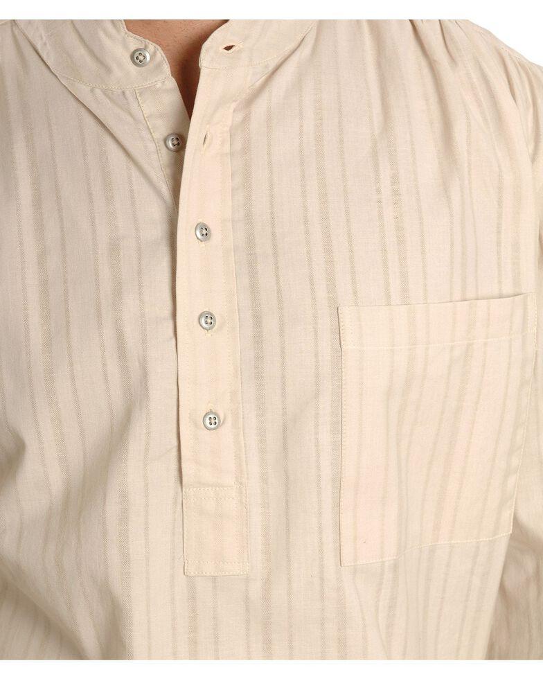 Rangewear by Scully Natural Old Fashioned Railroader Shirt, Natural, hi-res
