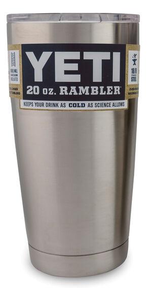 YETI Coolers Rambler 20 oz. Tumbler, Silver, hi-res