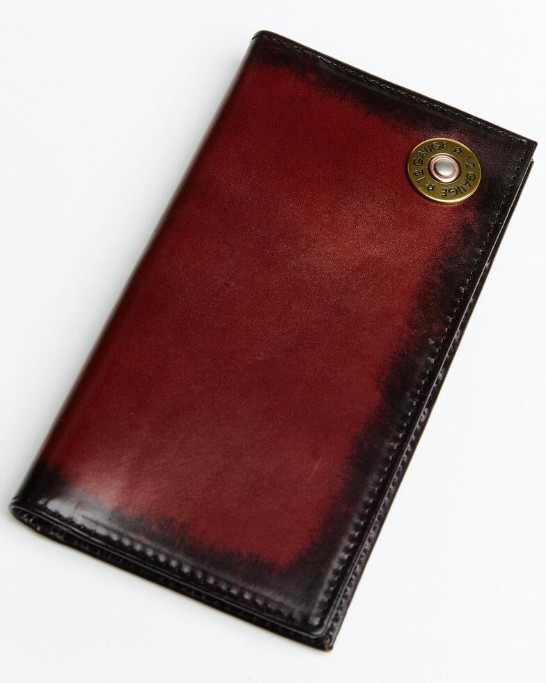 Nocona Shotgun Shell Concho Rodeo Wallet, Brown, hi-res