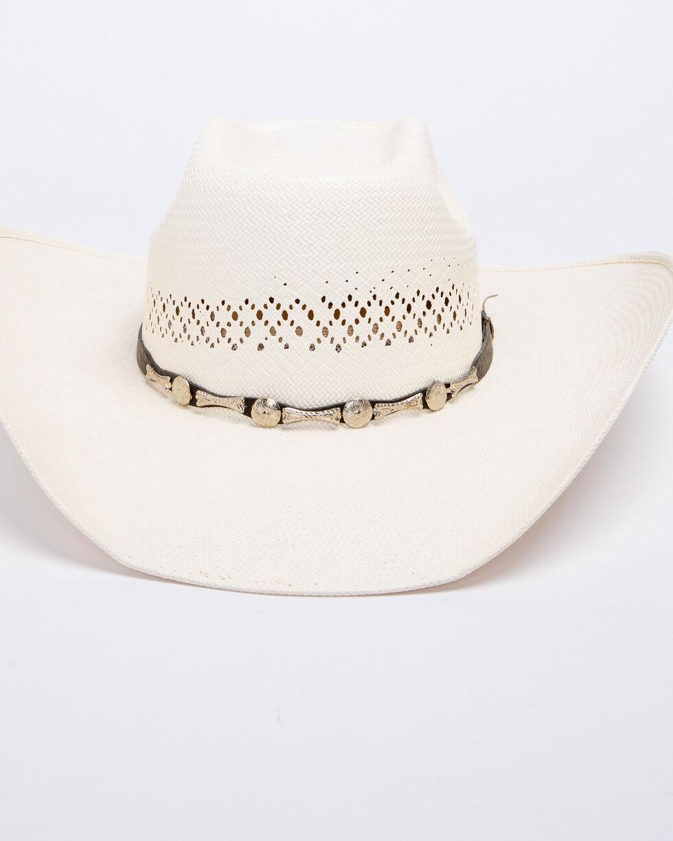 Bullhide Silver City 100X Shantung Panama Straw Cowgirl Hat, Natural, hi-res