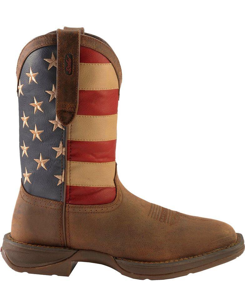 6572ec01b70 Durango Rebel Men's American Flag Cowboy Boots - Steel Toe