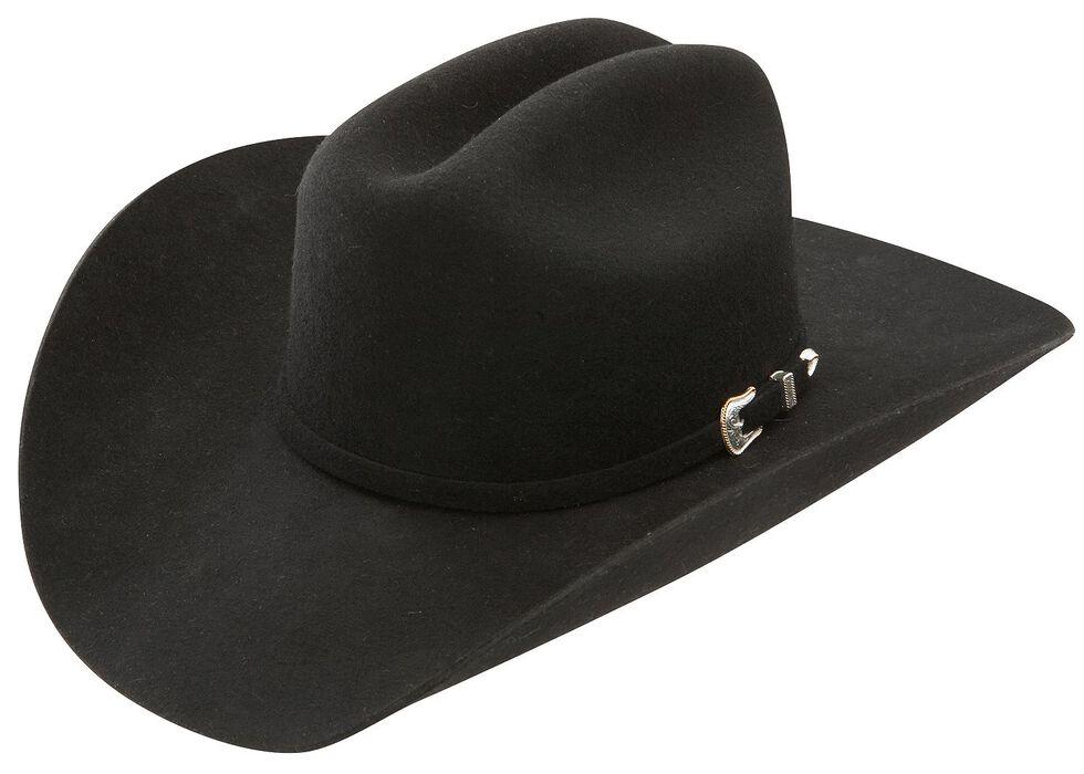 41ef4818 Zoomed Image Stetson 3X Oakridge Wool Cowboy Hat, Black, hi-res