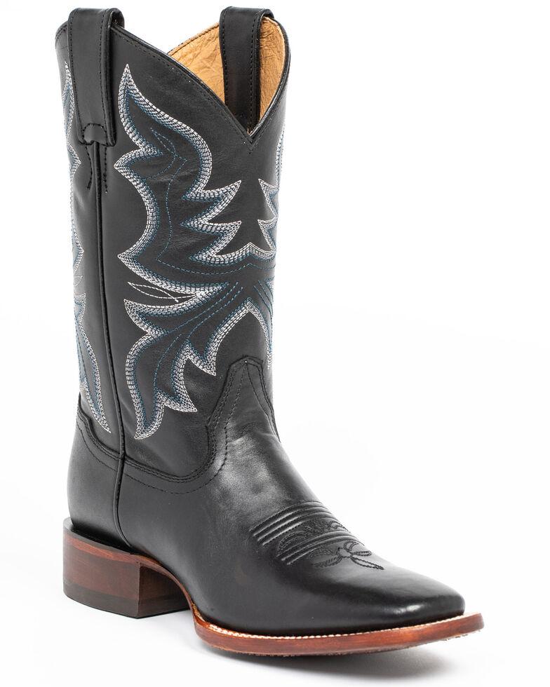 e1904721441 Shyanne Women's Black Western Boots - Square Toe