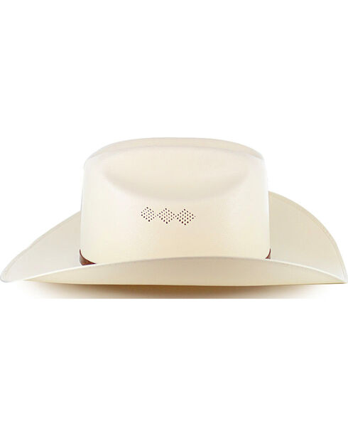 Larry Mahan Men's 15X El Primero Straw Hat, Natural, hi-res