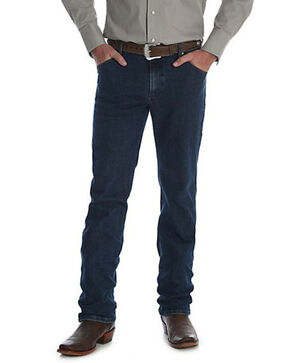 Wrangler Men's Midnight Rinse Premium Performance Cowboy Cut Jeans - Big & Tall , Indigo, hi-res