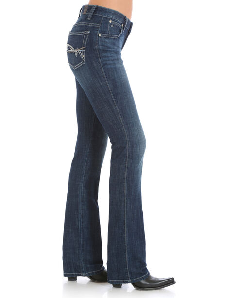 Wrangler Aura Women's Instantly Slimming Jeans - Boot Cut, Indigo, hi-res
