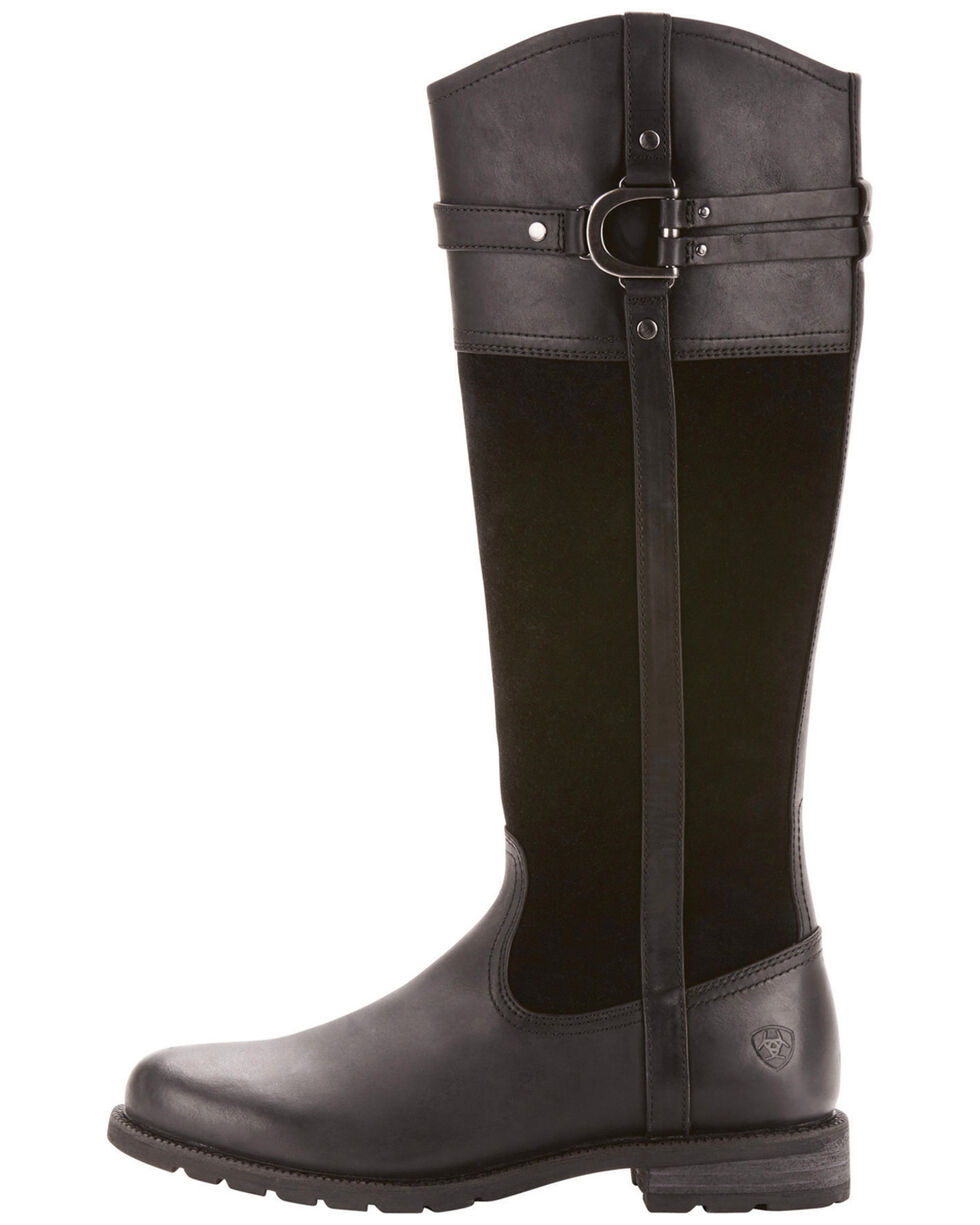 Ariat Women's Loxley Waterproof Riding Boots, Black, hi-res