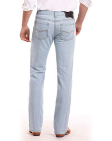 Rock & Roll Cowboy Men's Blue Revolver Jeans - Straight Leg , Blue, hi-res