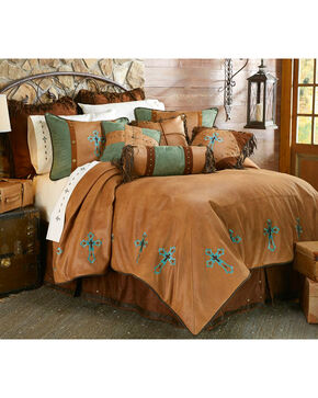 HiEnd Accents Las Cruces II Comforter Set - King Size, Multi, hi-res