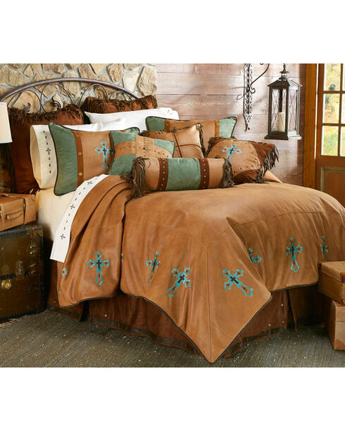 HiEnd Accents Las Cruces II Comforter Set - King Size, Multi, hi-res