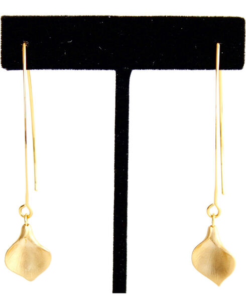 Everlasting Joy Hanging by a Thread Earrings, Gold, hi-res