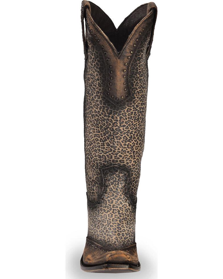 Liberty Black Women's Micro Jaguart T-Moro Boots - Narrow Square Toe , Brown, hi-res
