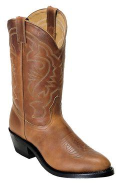 Boulet Challenger Cowboy Boots - Medium Toe, Sand, hi-res