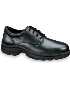 Thorogood Men's American Heritage SoftStreets Postal Certified Oxfords - Steel Toe, Black, hi-res