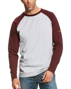 Ariat Men's FR Long Sleeve Work Raglan T-Shirt , Multi, hi-res