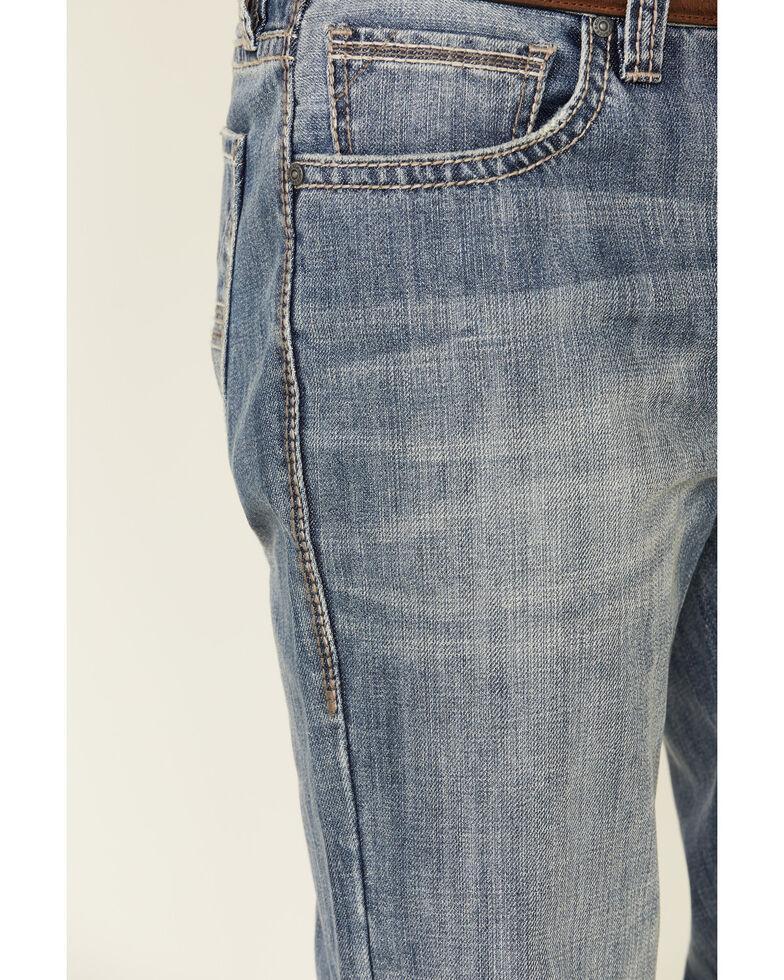 Rock & Roll Denim Men's Vintage Double Barrel Relaxed Straight Jeans , Indigo, hi-res