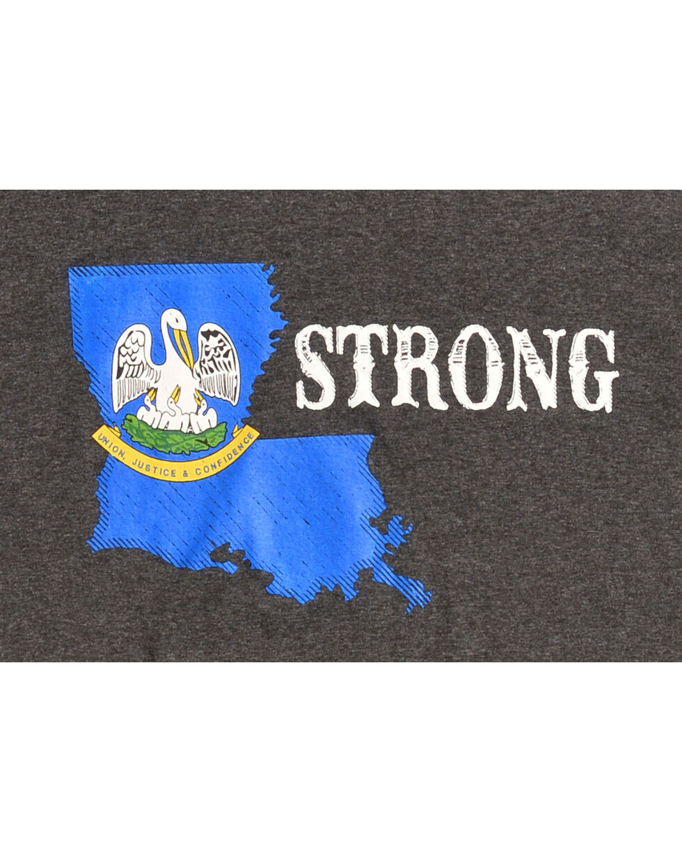 Cody James Men's Louisiana Strong T-Shirt, Black, hi-res