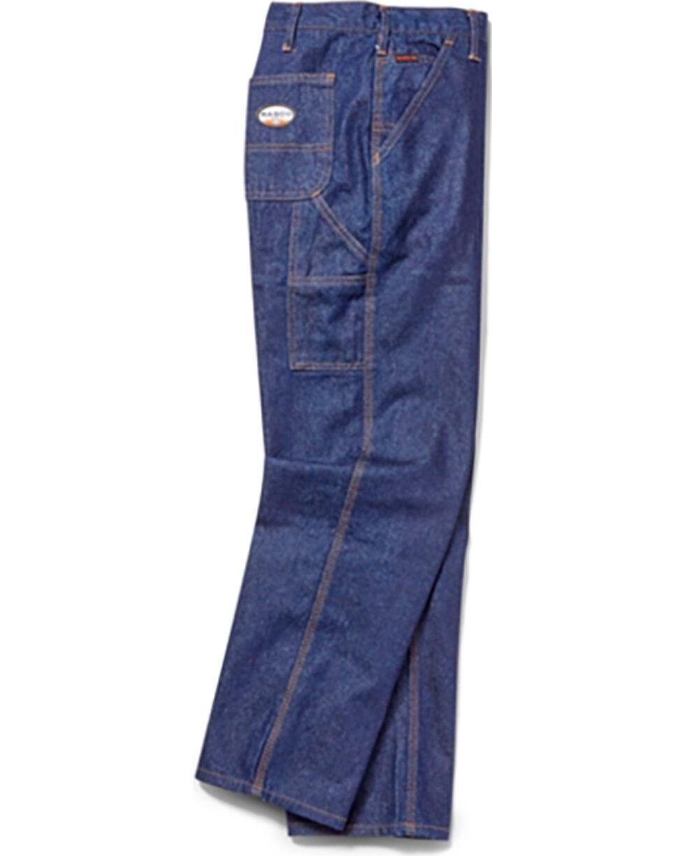 Rasco Men's Indigo FR Carpenter Pants - Boot Cut, Indigo, hi-res