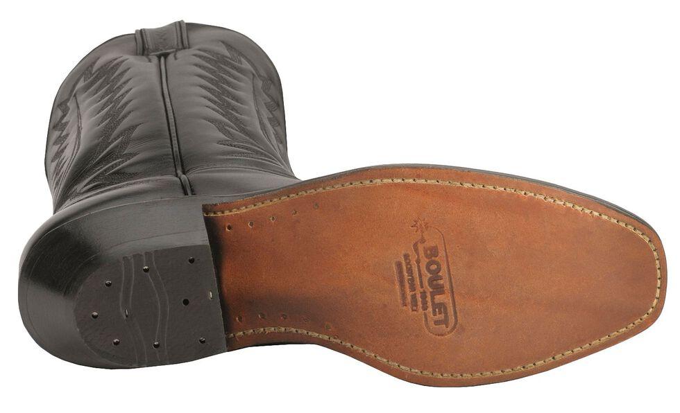 Boulet Dress Cowboy Boots - Square Toe, Black, hi-res