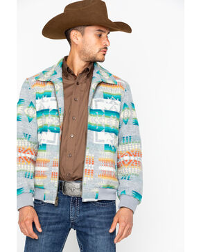 Pendleton Men's Santa Fe Jacket , Grey, hi-res